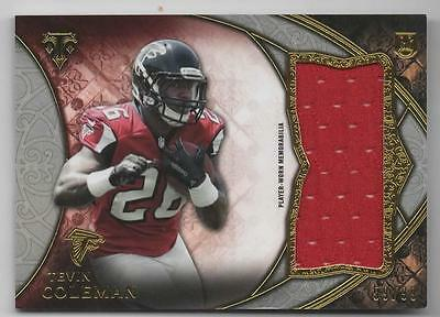 CR) 2015 Topps Triple Threads Tevin Coleman Jersey Relic 59/99 ATLANTA FALCONS