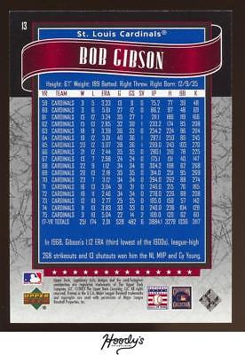 Image of 2003 SP Legendary Cuts #13 Bob Gibson 0426/1299 CARDINALS