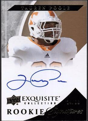 PH) 	2012 Exquisite Collection #120 Tauren Poole AUTO #24/99