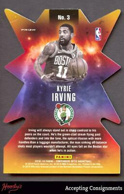Image of 2018-19 Panini Contenders Optic Superstar Die Cuts SILVER Kyrie Irving CELTICS