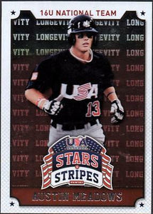 ET 	2015 USA Baseball Stars and Stripes Longevity #36 Austin Meadows