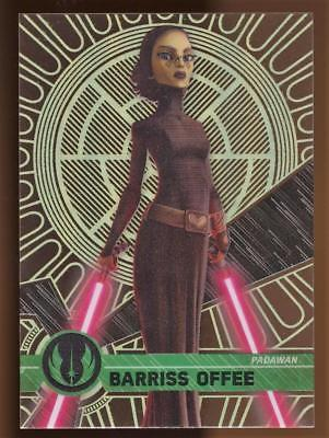 2017 Topps Star Wars High Tek  BARRISS OFFEE #11 PATTERN 5 FORM 1