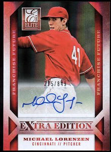 ET 2013 Elite Extra Edition Franchise Futures Auto #12 Michael Lorenzen #225/849