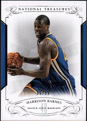 JC 2013-14 Panini National Treasures #59 Harrison Barnes 86/99