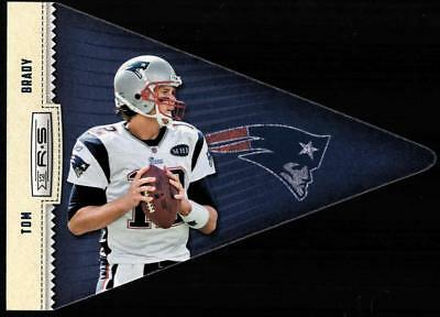 ZB) 2012 ROOKIES STARS TOM BRADY #2 PLAYER PENNANT PATRIOTS