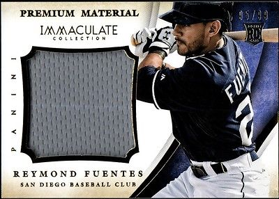 Image of JC 2014 Immaculate Collection Premium Material #35 Reymond Fuentes Jersey /99