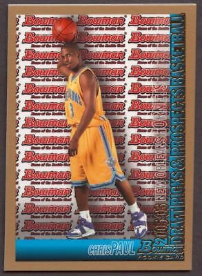 Image of 2005-06 Bowman Gold #111 Chris Paul ROOKIE HORNETS RC