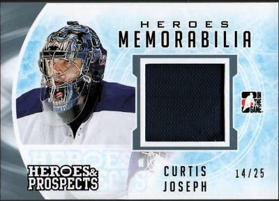 ET) 2016-17 ITG Heroes and Prospects Heroes Memorabilia  Curtis Joseph #14/25