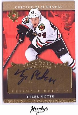 VM)	2016-17 Ultimate Collection '06-07 Retro Rookie Tyler Motte AUTO 030/199