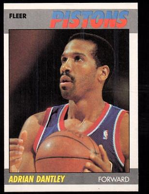 1987-88 Fleer #24 Adrian Dantley ex-mnt