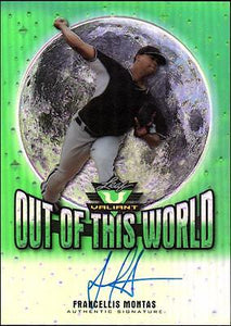 ET 	2014 Leaf Valiant Draft Out of this World Auto  Francellis Montas