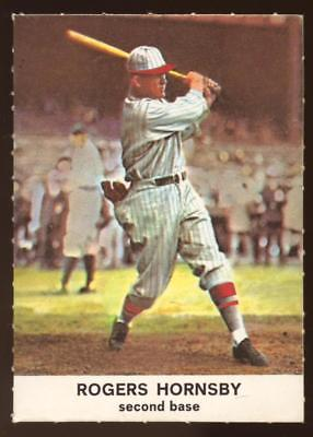 1961 Golden Press #7 Rogers Hornsby CARDINALS