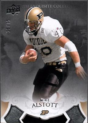 PH) 2011 Exquisite Collection #5 Mike Alstott #28/75