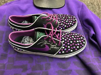 Michael Jordan Autograph Signed Nike SB Janoski Doernbecher Shoes/Lot JSA LOA