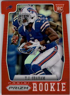 JC 2012 Panini Prizm Prizms Red #234 T.J. Graham