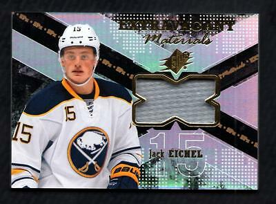 ET) 2016-17 SPx Extravagant Materials #EXJE Jack Eichel C Game Used Jersey