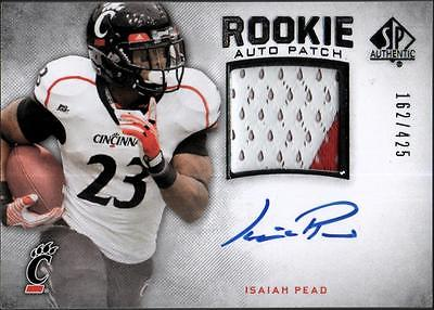 PH) 	2012 SP Authentic #276 Isaiah Pead PATCH AUTO #162/425