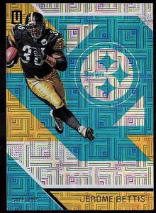 2016 Panini Unparalleled Teal #59 Jerome Bettis