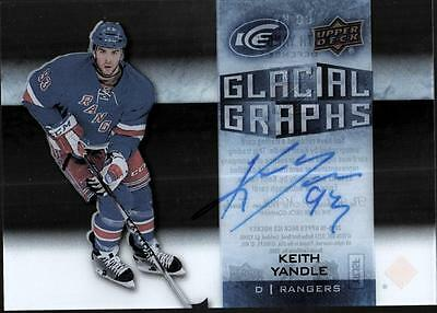 ET 	2015-16 Upper Deck Ice Glacial Graphs #GGKY Keith Yandle