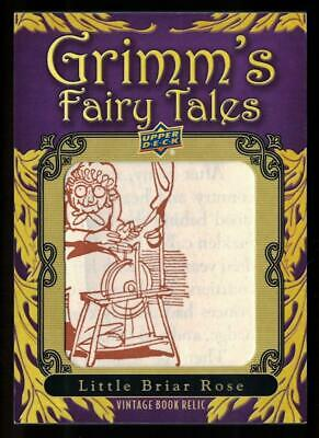 2019 Goodwin Champions Grimm's Fairy Tales Illustration #GF9 Little Briar Rose C