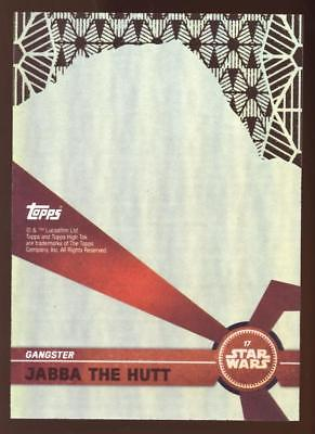 Image of 2017 TOPPS HIGH TEK STAR WARS PRINCESS LEIA ORGANA #16 PATTERN 2 FORM 1