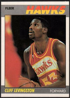1987-88 Fleer #63 Cliff Levingston RC