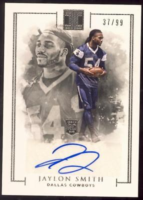 2016 Panini Impeccable #136 Jaylon Smith AU RC #37/99 AUTO COWBOYS