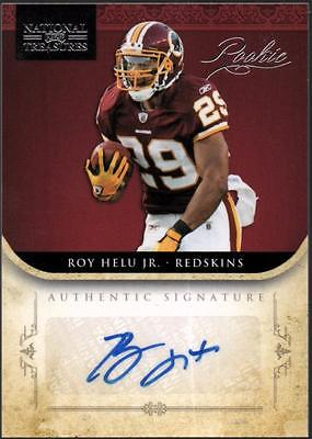 PH) 	2011 Playoff National Treasures #279 Roy Helu AU RC #74/99 AUTO