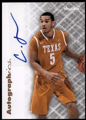 ET 2011-12 Fleer Retro Autographics 1996-97 #CJ Cory Joseph