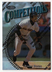 1997 Finest #313 Barry Bonds S Competitors Giants BV $12