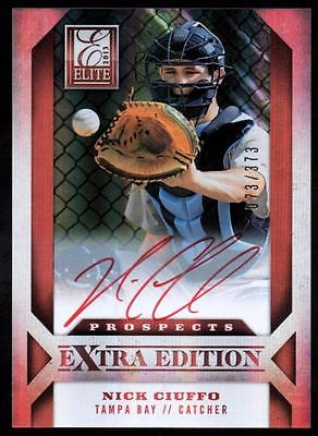 ET 2013 Elite Extra Edition #114 Nick Ciuffo AU#073/373