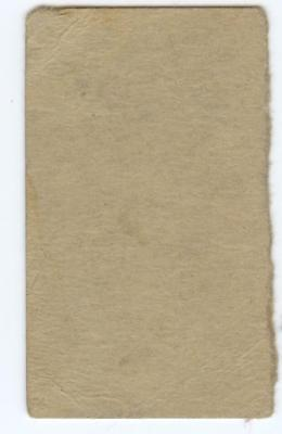 Image of 1923 W515 BASEBALL STRIP CARD HAND CUT DUTCH RUETHER #40 BROOKLYN GOOD