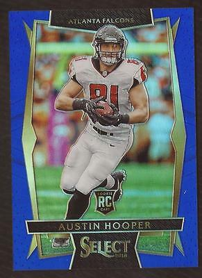 ET) 2016 Select Prizm Blue #95 Austin Hooper 029/149 FALCONS RC