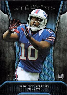 JC 2013 Bowman Sterling Blue Wave Refractors #46 Robert Woods #72/99