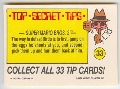 1989 NINTENDO TIPS & SCRATCH-OFF 93 CARDS COMPLETE SET SUPER MARIO BROS ZELDA +