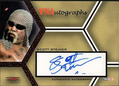 CO 2008 TriStar TNA Impact Autographs 25 #ASS Scott Steiner #08/25