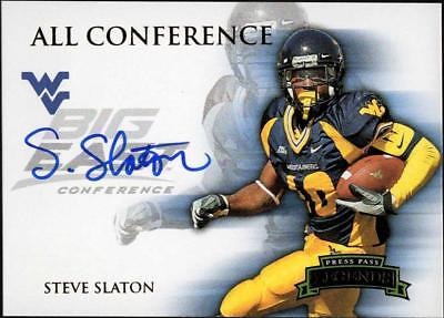 ZB) 2008 PRESS PASS LEGENDS STEVE SLATON ALL CONFERENCE ON CARD AUTO BIG EAST