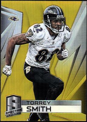 JC 2014 Panini Spectra Prizms Gold #108 Torrey Smith #13/25