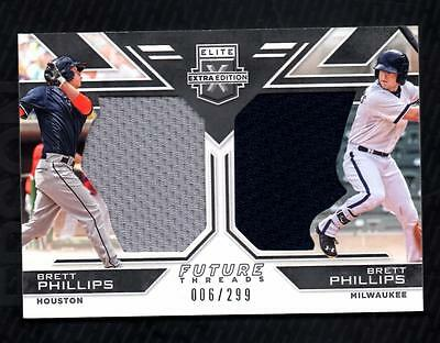 VM) 2016 Elite Extra Edition Brett Phillips Dual Jersey 006/299