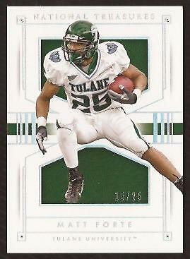 ET 2016 Panini National Treasures Collegiate Silver #82 Matt Forte 15/25