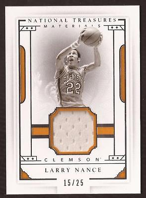 ET 2016 Panini National Treasures Collegiate #54 Larry Nance Jersey 15/25