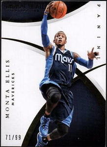 JC 2014-15 Immaculate Collection #10 Monta Ellis 71/99