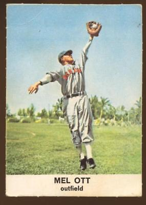1961 Golden Press #1 Mel Ott GIANTS