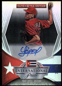 ET 2015 Elite Extra Edition International Pride Signatures  Yoan Lopez #27/99
