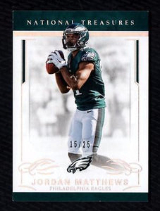 ET) 2016 Panini National Treasures Holo Silver #80 Jordan Matthews 15/25 EAGLES