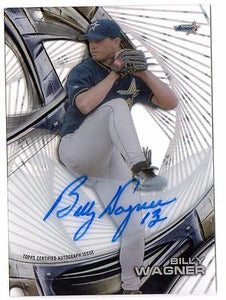 ET 2016 Topps High Tek Autographs #HTBW Billy Wagner AUTO ASTROS