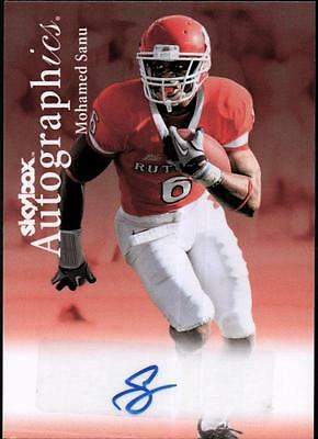 PH) 	2012 Fleer Retro Autographics 1999 #99MS Mohamed Sanu AUTO