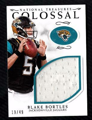 ET) 2016 National Treasures Colossal Blake Bortles Jersey Relic 19/49