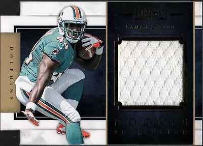 PH) 2012  Prominence Rookie Projection Materials Lamar Miller #002/299 JERSEY