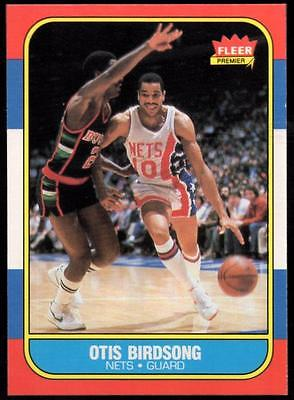 1986-87 Fleer #10 Otis Birdsong